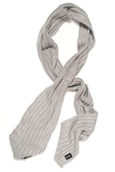 Sciarpa a coste larghe Refrigue | 77 | SCARF-R85007NAS2USILVER GREY
