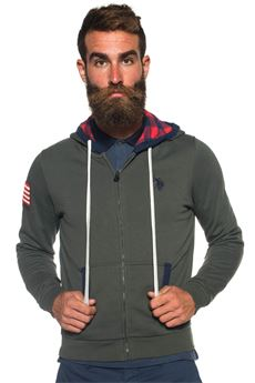 Sweatshirt with hood US Polo Assn | 20000055 | 42709-49151246