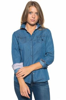 Denim blouse US Polo Assn | 6 | 43002-51352179