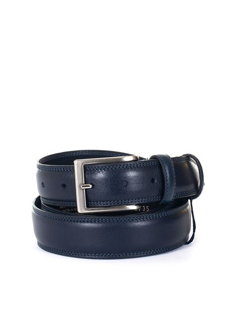 Leather belt Angelo Nardelli | 20000041 | 83459-G923250
