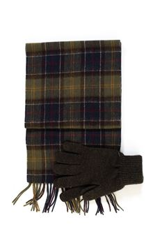 Gloves and scarf set Barbour | 5032240 | BAACC1131TN11