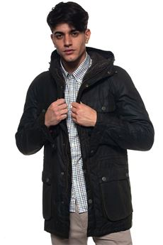 Hooded jacket Barbour | 20000057 | BACPS14210L52