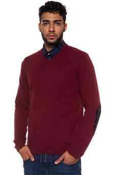 Bamag V-neck pullover Barbour | 7 | BAMAG0428RE34