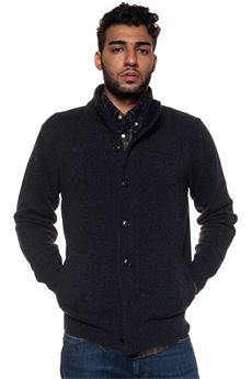 Bamag Wool cardigan Barbour | 39 | BAMAG0435CH51