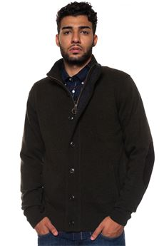 Bamag Wool cardigan Barbour | 39 | BAMAG0435GN73