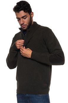 Bamag half zip pullover Barbour | 7 | BAMAG0478GN73