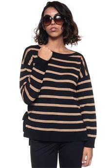 Wool jumper Blue Les Copains | 7 | 0J10613131