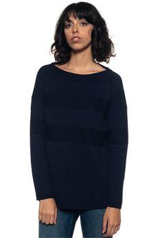 Wool jumper Blue Les Copains | 7 | 0J10800195