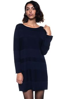 Sweater dress Blue Les Copains | 130000002 | 0J10810195
