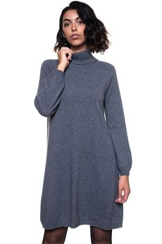 Sweater dress Blue Les Copains | 130000002 | 0J11521124