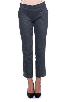 Flannel trousers Blue Les Copains | 9 | 0J30401124