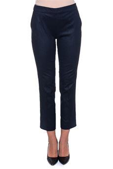 Flannel trousers Blue Les Copains | 9 | 0J30401195