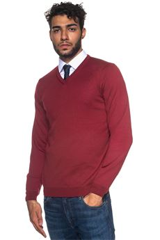 Pullover collo a V Baram BOSS by HUGO BOSS | 7 | BARAM-50373736601