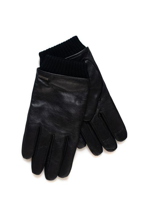 Hewen leather gloves BOSS | 34 | HEWEN-50394213001