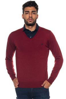 Pullover collo a V Brooksfield | 7 | 203E-P008174