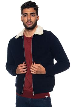 Knitted harrington jacket Brooksfield | -276790253 | 207A-M0019608