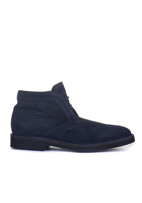 Suede ankle boots Canali | 12 | 653217-RB00268312