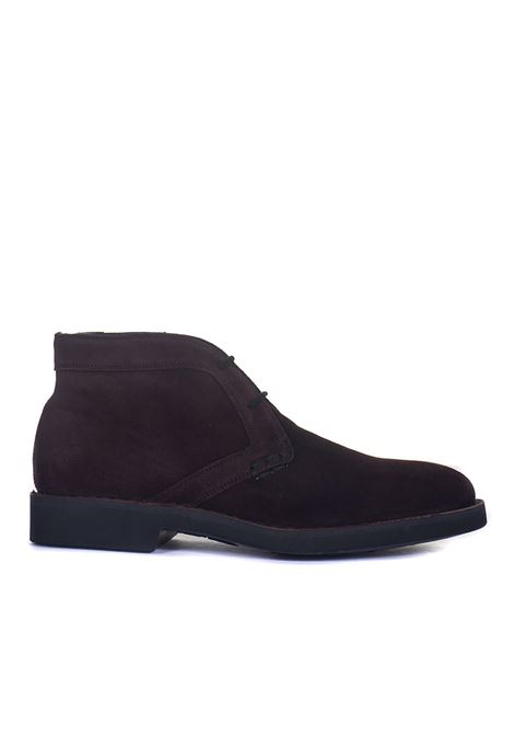 Suede ankle boots Canali | 12 | 653217-RB00268920