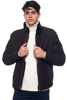 Leather harrington jacket Corneliani | -276790253 | 8820104-82L5H1030