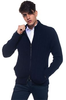 Cable knit chunky cardigan Corneliani | 39 | 8825113-82M535001
