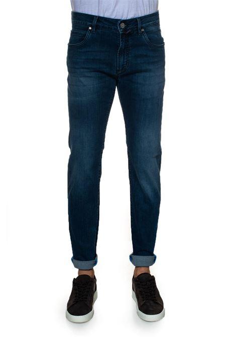 Tokyo 5 pocket denim Jeans E. Marinella | 24 | TOKYO-M309622