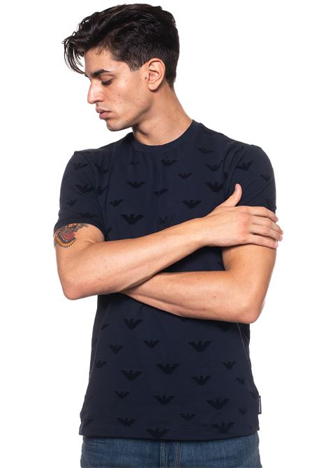 T-shirt girocollo arricciato Emporio Armani | 8 | 6Z1TC5-1JPTZ0922