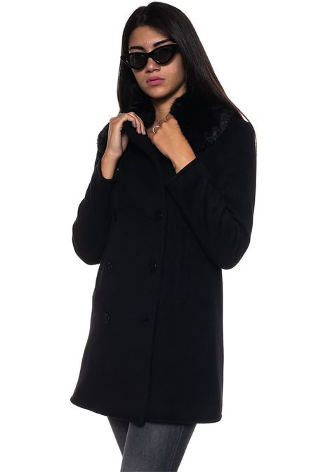 Cappotto in lana Emporio Armani | 20000057 | 6Z2L79-2N49Z0999