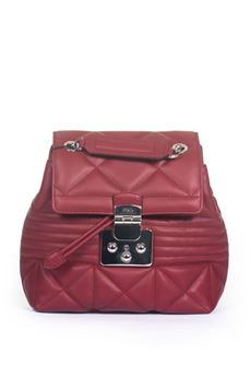 Fortuna Leather rucksack Furla | 5032307 | FORTUNA BTE1-WNTCILIEGIA