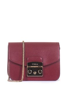 Small-size leather bag Furla | 31 | METROPOLIS BGZ7-ARECILIEGIA
