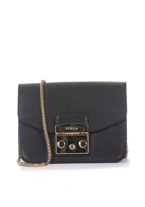 Small-size leather bag Furla | 31 | METROPOLIS BGZ7-AREONYX