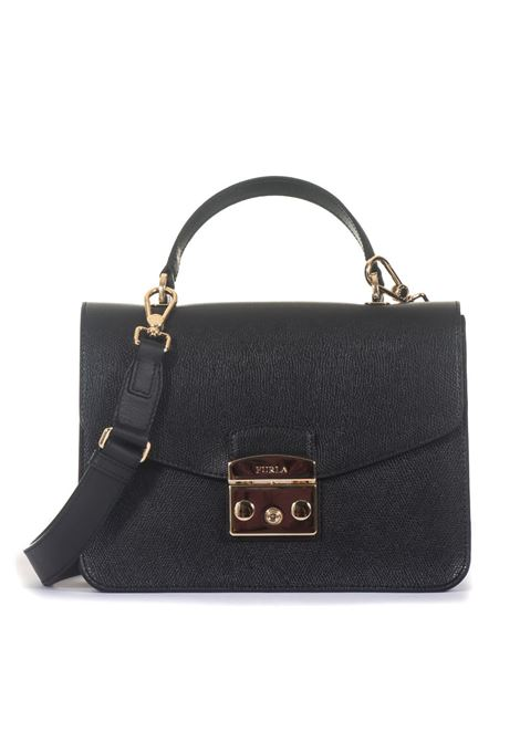 Medium-size leather bag Furla | 31 | METROPOLIS BLE8-AREONYX