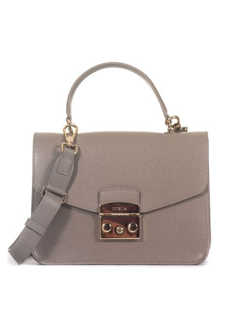 Medium-size leather bag Furla | 31 | METROPOLIS BLE8-ARESABBIA