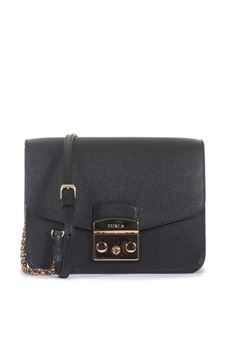 leather bag Furla | 31 | METROPOLIS BNF8-AREONYX