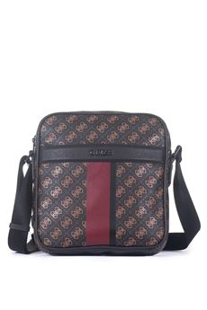 City logo Shoulder bag Guess | 20000001 | HM6377-POL81BOC