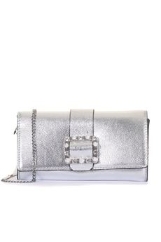 clutch Leather pochette Guess | 31 | HWSS69-97720SIL