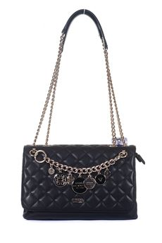 Victoria Shoulder bag with chain Guess | 31 | HWVG71-07210BLA