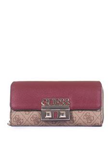 Logo Luxe Zip wallet Guess | 63 | SWSG71-02620BRO