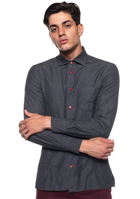 Shirt with long sleeves Kiton | 6 | NERP-64342