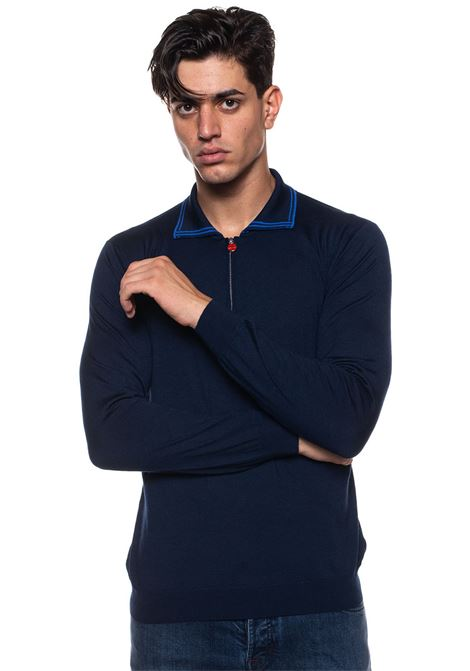 Polo manica lunga Kiton | 2 | UK967-8V5