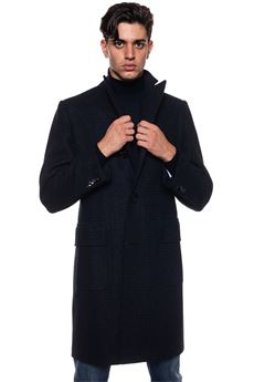Coat with 3 buttons Kiton | 17 | US201K02P2203001