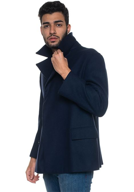 Gentile Double-breasted coat KNT | 17 | GENTILE-1R175