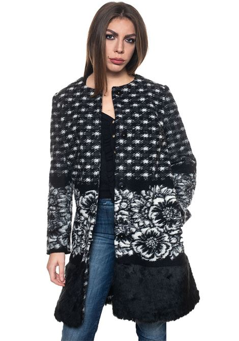 Jacquard coat Luckylu | 17 | 26LLCP05JC0800