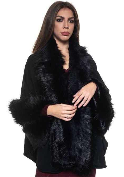 Kimono sleeve cape Luckylu | 52 | 26LLGM05EP0700