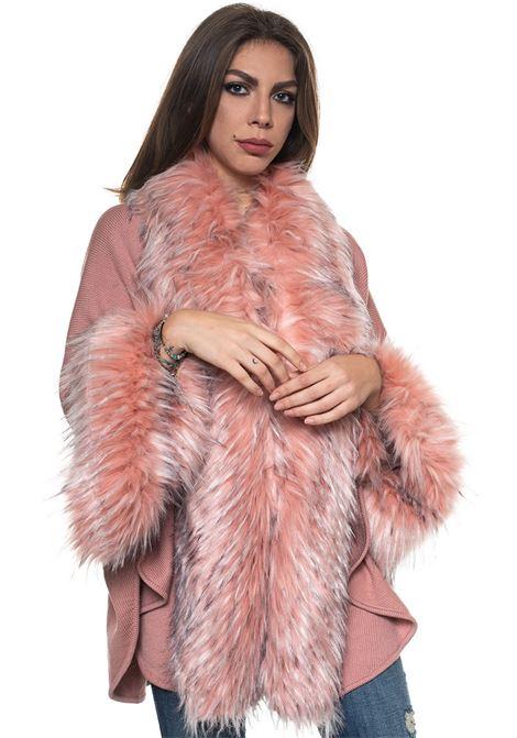 Kimono sleeve cape Luckylu | 52 | 26LLGM05EP1385