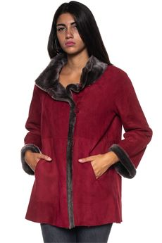 Reversible shearling jacket Marester | 20000061 | 1714-DUXIDO23ROSSO