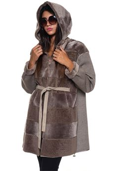 Shearling jacket Marester | 20000057 | 4762-CASHD-FOFOG