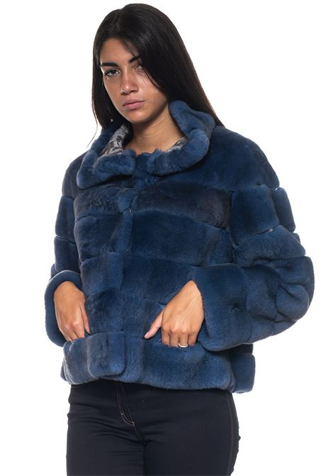 Cropped fur coat Marester | 20000061 | REGISVODENIM