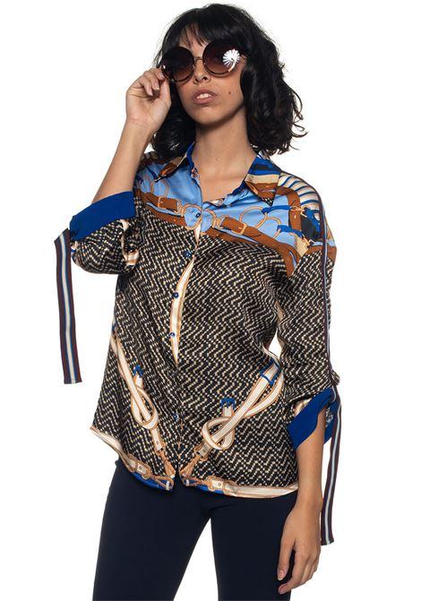 Camicia da donna fantasia Arco Mariella Rosati | 6 | ARCOY001