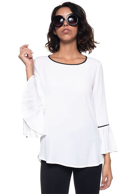 Camicia da donna a casacca Goccia Mariella Rosati | 6 | GOCCIAY003