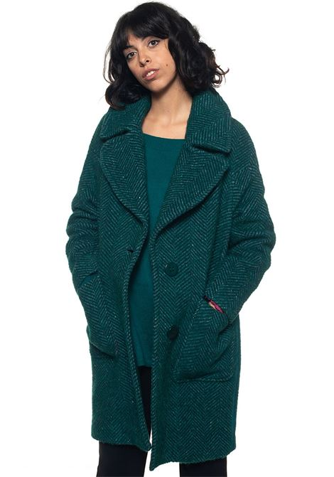 Grillo Coat with 2 buttons Mariella Rosati | 17 | GRILLOY001